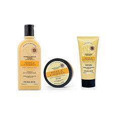 Perlier Honey Umbria Full-Size 3-Piece Kit