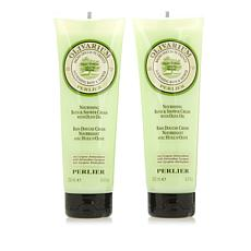 Perlier Olive Oil Bath & Shower Cream Duo