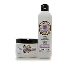 Perlier Shea Lavender Bath & Body Balm 2pc Set