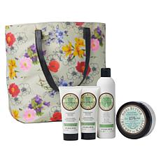 Perlier Shea Pear 4-piece Set with Tote