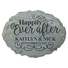 Personal Creations Personalized Happily Ever After Stepping Stone
