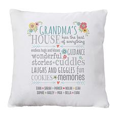 "Personalized ""Favorite Memories"" Throw Pillow - 15"" x 15"""