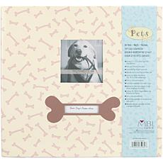 "Pet 12"" x 12"" Postbound Album with Photo Window - Dog"