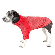 Pet Life Active Chewitt Wagassy Two-Toned Long Sleeve Dog T-Shirt