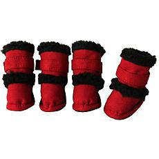 Pet Life Shearling Duggz Pet Shoes