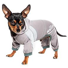 Pet Life XS 4-Way Stretch Breathable Full Body Yoga Dog Track Suit