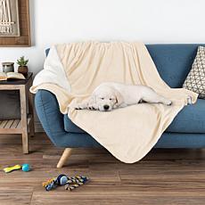 "Pet Pal Waterproof Reversible Pet Blanket 50""x 60"" - Cream"
