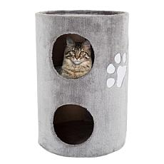 PETMAKER 2-Story Cat Condo with Scratching Surface