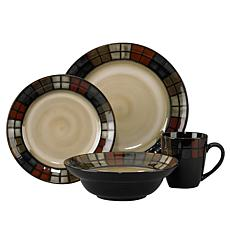 Pfaltzgraff 16-piece Calico Dinnerware Set