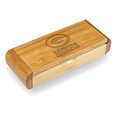 Picnic Time Élan-Bamboo Corkscrew - Green Bay Packers