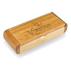 Picnic Time Élan-Bamboo Corkscrew - Minnesota Vikings
