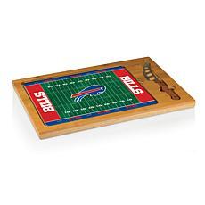 Picnic Time Glass Top Cutting Board-Buffalo Bills