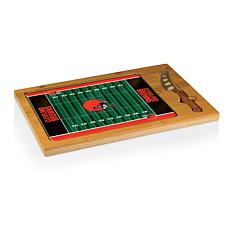 Picnic Time Glass Top Cutting Board-Cleveland Browns
