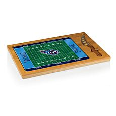 Picnic Time Glass Top Cutting Board - Tennessee Titans