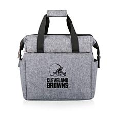 Picnic Time Officially Licensed NFL On The Go Lunch Cooler - Clevel...