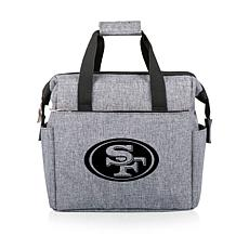 Picnic Time Officially Licensed NFL On The Go Lunch Cooler - 49ers