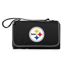 Picnic Time Officially Licensed NFL Picnic Blanket-Pittsburgh Steelers