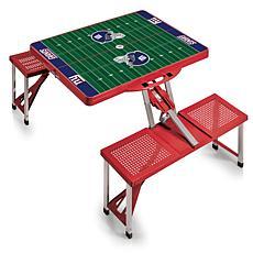 Picnic Time Picnic Table Sport - New York Giants
