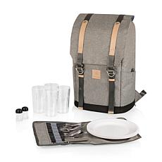 Picnic Time PT-Frontier Backpack - Heathered Gray
