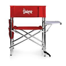 Picnic Time Sports Chair - University of Nebraska