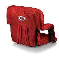 Picnic Time Ventura Folding Stadium Chair-KC Chiefs