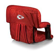 Picnic Time Ventura Folding Stadium Chair-KC Chiefs