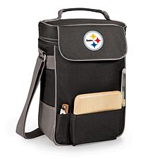 Picnic Time Wine and Cheese Tote-Pittsburgh Steelers