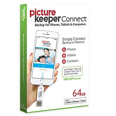 Picture Keeper Connect 64GB Smartphone Photo Saver and Storage