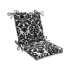 Pillow Perfect Outdoor Essence Squared Corners Chair Cu
