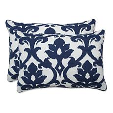Pillow Perfect Outdoor Rectangular Throw Pillow Pair