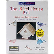 Pinepro Bird House Kit - Unfinished