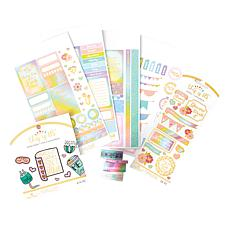 Plans That Blossom Self-Care Pastel Planner Bundle