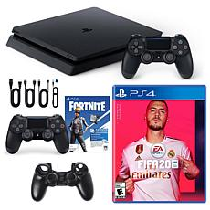Playstation 4 1TB Core Console with Fifa 20, Fortnite Controller an...