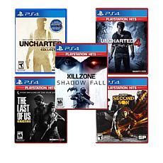 PlayStation 4 Greatest Hits 5 Games