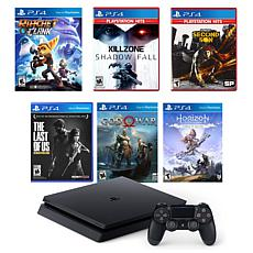 PlayStation 4 with Ratchet and Clank, Killzone, and Infamous Greate...