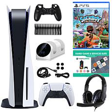 PlayStation 5 with DualSense Controller, Sackboy & Accessories Kit