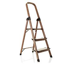 Polder Leopard Print 3-Step Ladder