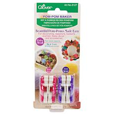 "Pom-Pom Maker: Extra Small 2-pack - 3/4"" and 1"""