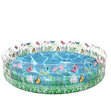 PoolCandy Inflatable Sunning Pool Butterfly Garden Party