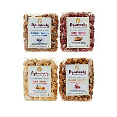 Popinsanity® 4-pack 8 oz. Fall Assorted Flavors Gourmet Popcorn
