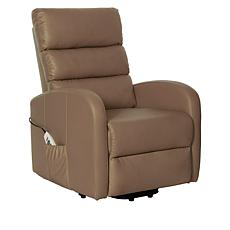 Power Lift Leather Recliner with Heat, Massage and USB