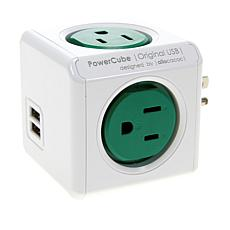 PowerCube Original Modular 4-Socket with USB System 2-pack