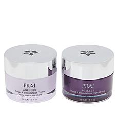 PRAI Ageless Throat & Decolletage Day & Night Set