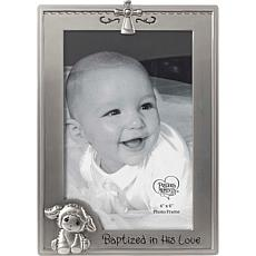 """Precious Moments Baptized In His Love 4"""" x 6""""  Baptism Photo Frame"""