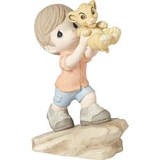 Precious Moments Disney's Lion King Destined For Greatness Figurine