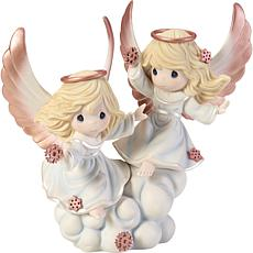 "Precious Moments ""If Snowflakes Were Blessings..."" Figurine"