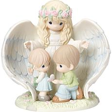Precious Moments Limited Edition Guardian Angel Figurine