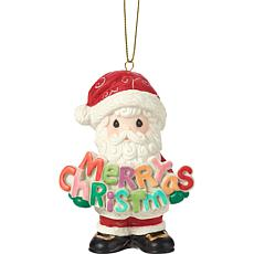 Precious Moments Merry Christmas To All 11th Annual Santa Ornament