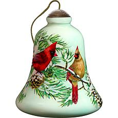 Precious Moments Ne'Qwa Art Cardinal Ornament