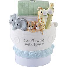 Precious Moments Overflowing w/ Love Noah's Ark Ceramic Oil Diffuser